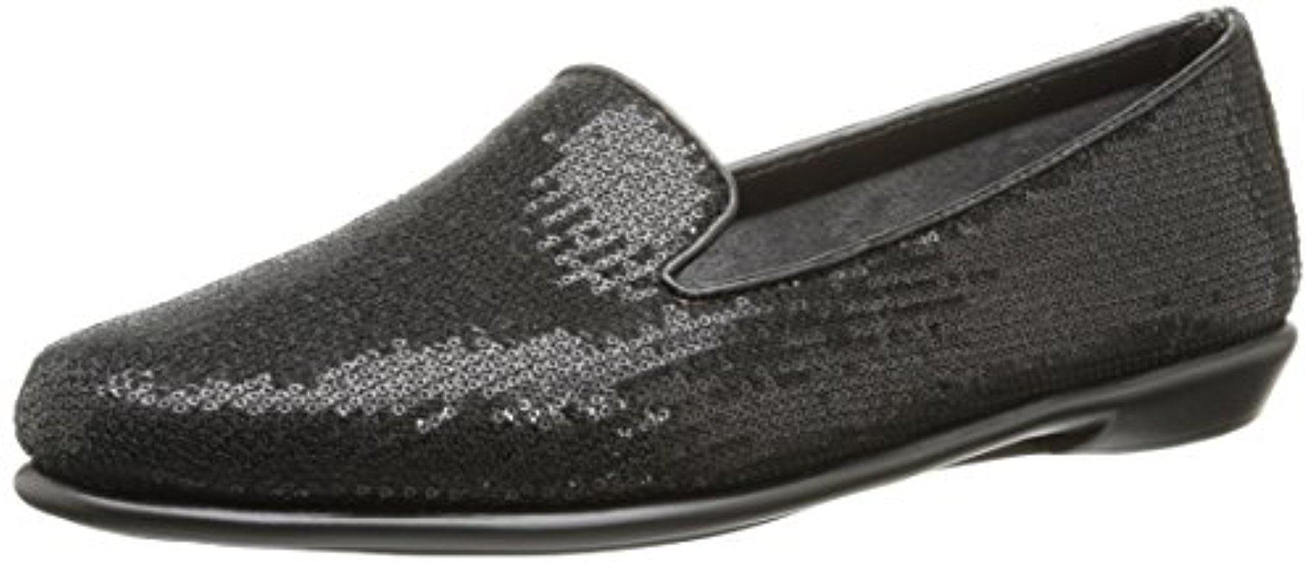 d8b4f50e254 Lyst - Aerosoles Betunia Loafer in Black