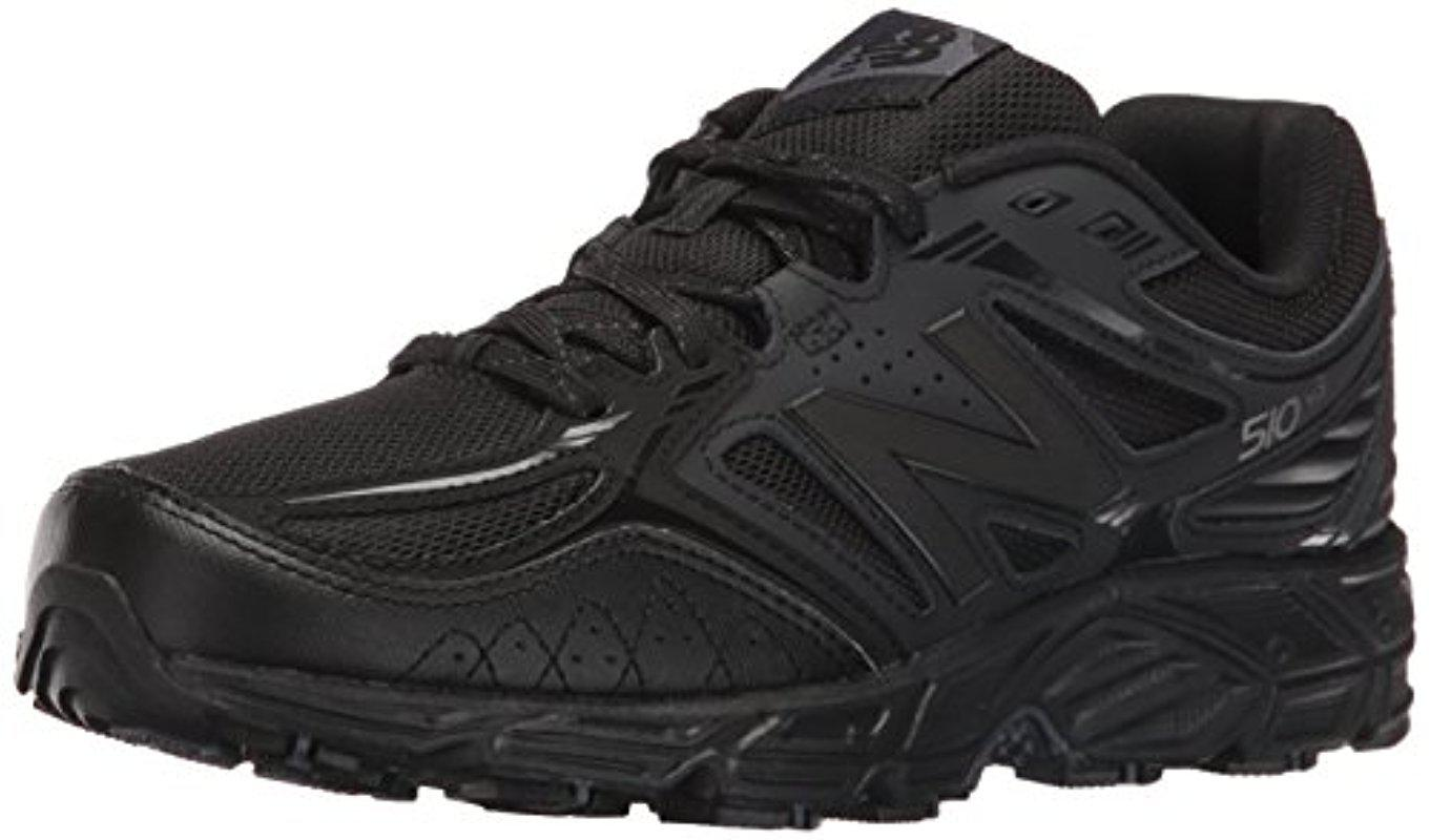 the latest d9dda 9fbb2 New Balance 510v3 Trail Running Shoes in Black for Men - Lyst