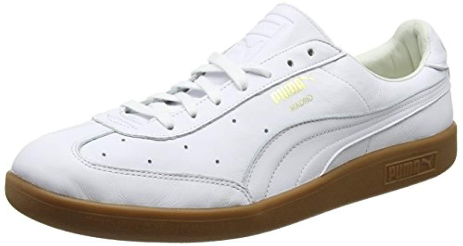 PUMA Unisex Adults  Madrid Premium Trainers in White for Men - Lyst e33765bf3