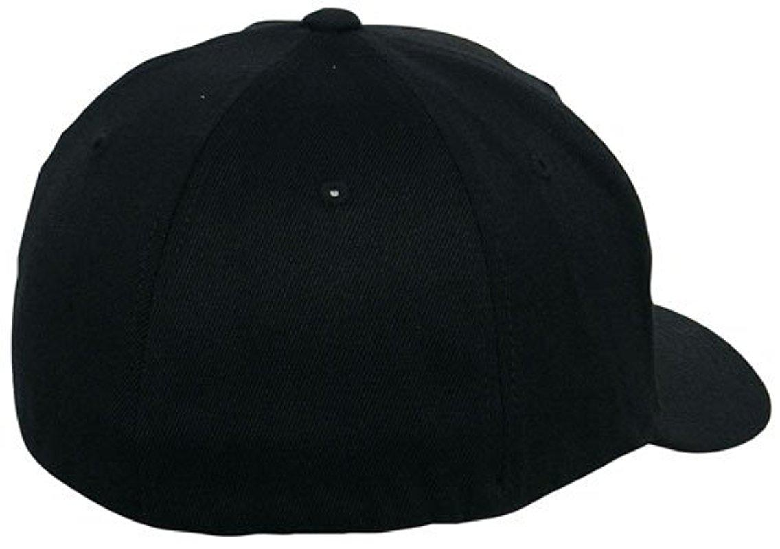 133364c97bd Nixon - Black Deep Down Ff Athletic Fit Hat for Men - Lyst. View fullscreen