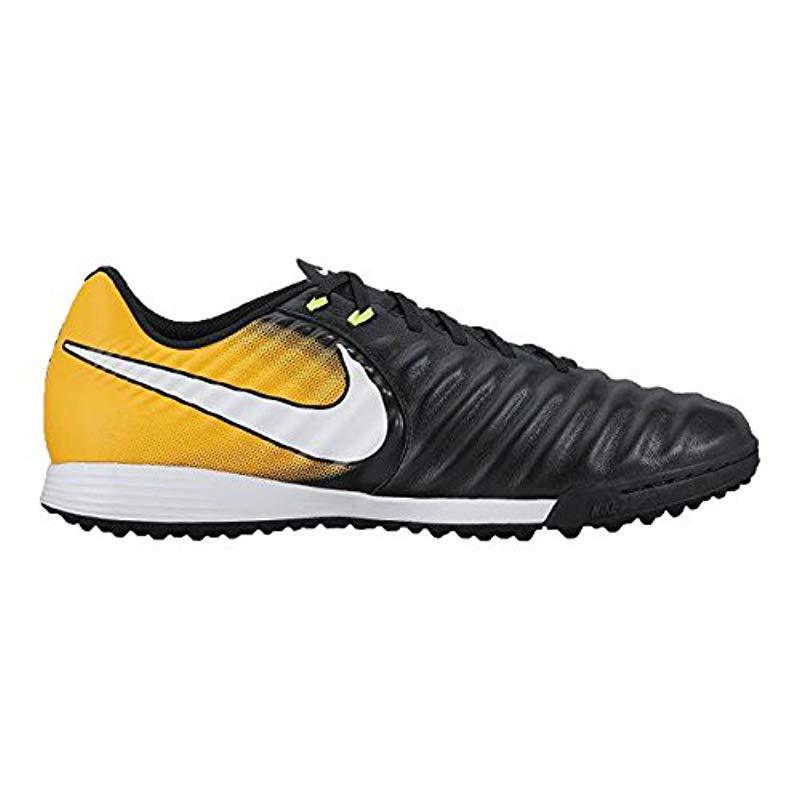 c815ab0b40e0 Nike Tiempox Ligera Iv Tf Football Boots in Black for Men - Lyst