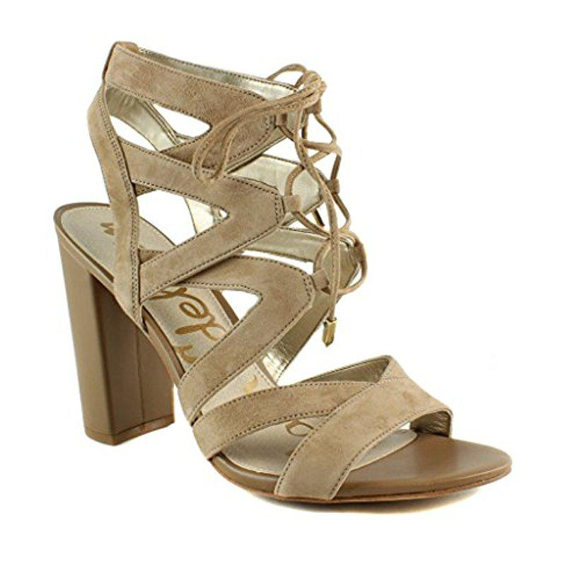 01c7b41200f4fa Lyst - Sam Edelman Yardley Dress Sandal in Natural