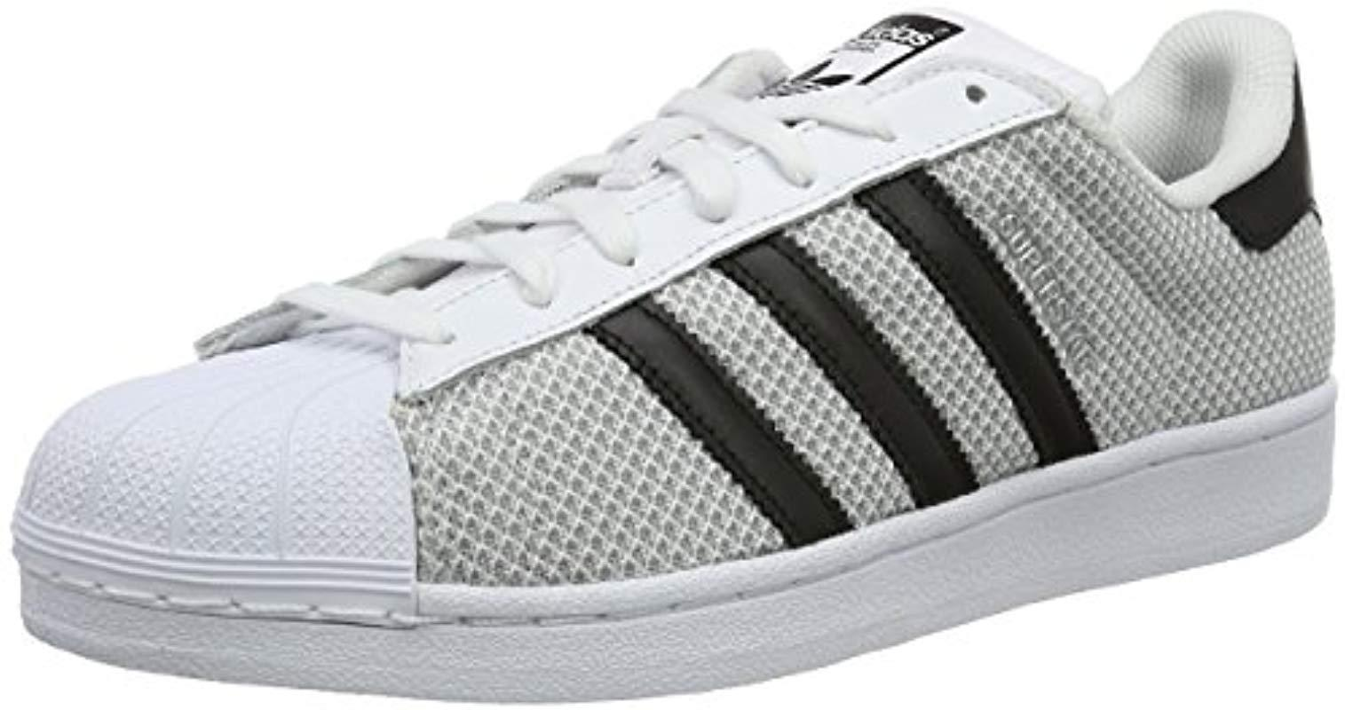 competitive price 8a91a 76822 Adidas Top Superstar Adult hombre Lyst Low blanco Unisex en Sneakers para  PqIrwxPFaB