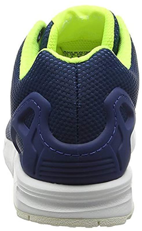 a6df35180 Adidas - Blue Zx Flux Training Running Shoes for Men - Lyst. View fullscreen