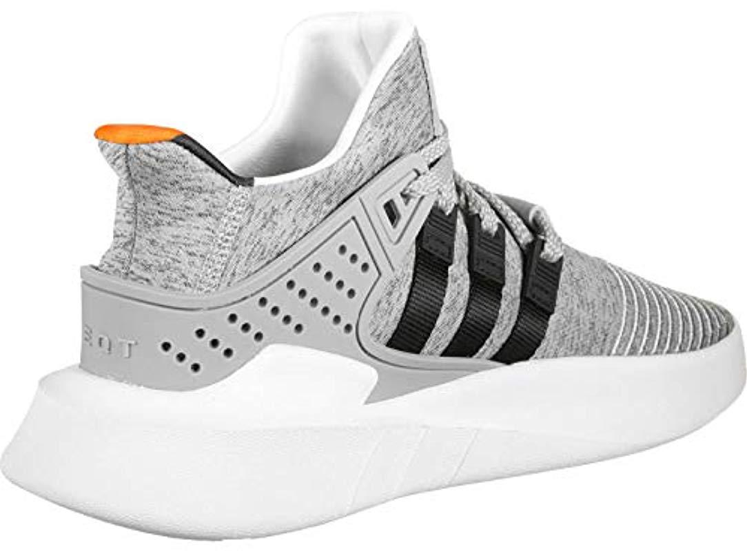finest selection 4335b 12f3a adidas Eqt Bask Adv Fitness Shoes in Gray for Men - Lyst