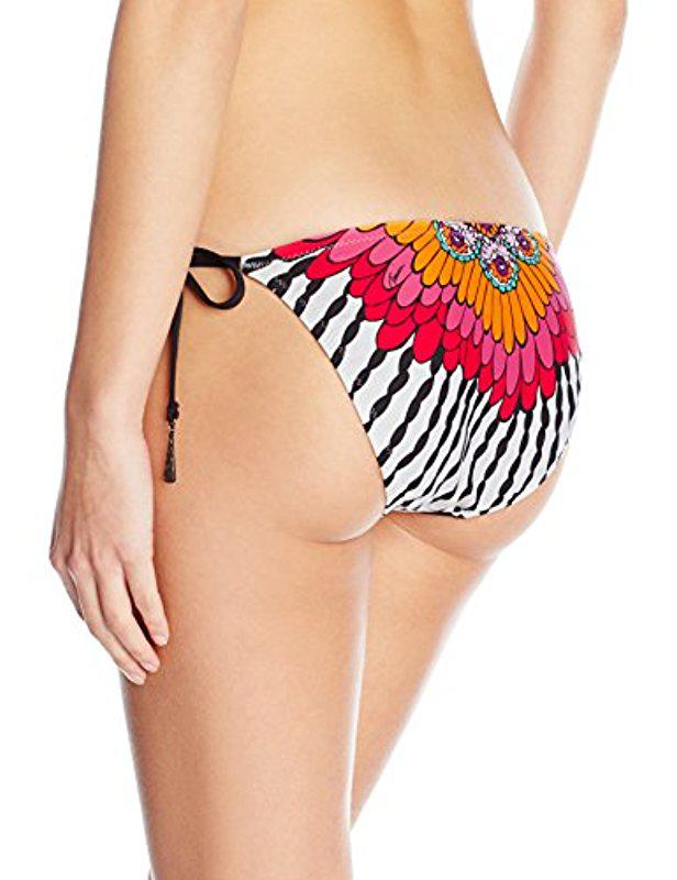 e43f87a27033f Lyst - Trina Turk Ibiza Tide Side Hipster Bikini Bottom - Save 50%