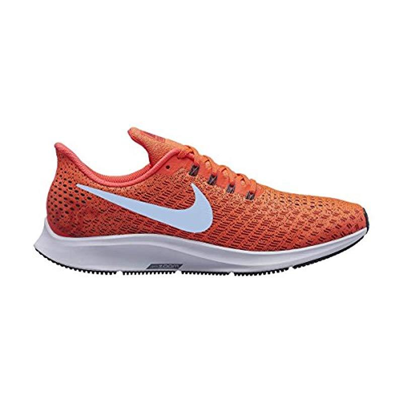 cc6700ea327d Nike Air Zoom Pegasus 35 Running Shoes in Orange for Men - Lyst