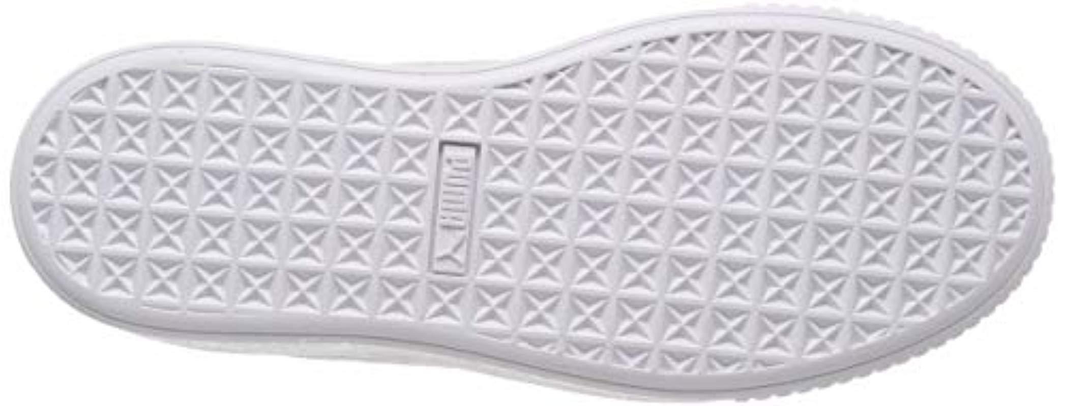 6fd40ad3b895 PUMA Platform Galaxy Wn s Low-top Sneakers in Gray - Lyst