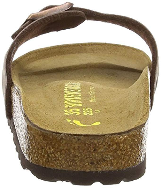 Birkenstock  s Madrid Birko-flor Sandals for Men - Lyst 1ab2f1e9598