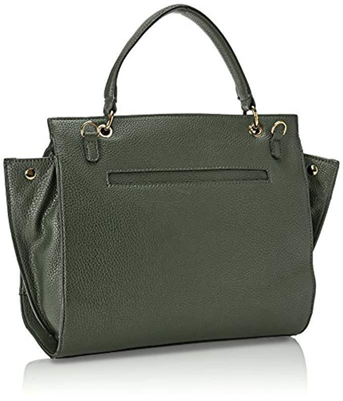 Guess  s Hwvg6781190 Top-handle Bag in Green - Lyst bf7cccf903a60