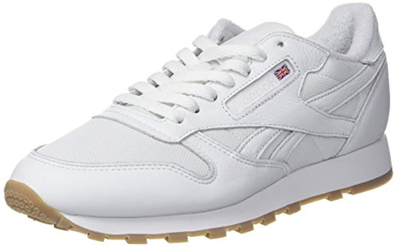 be88dc7f20ad54 Reebok Classic Leather Estl Trainers in White for Men - Lyst
