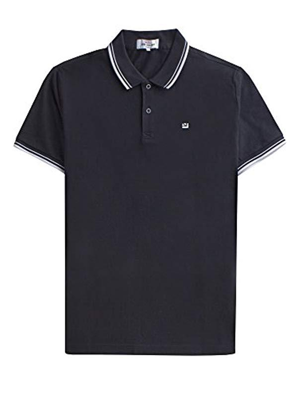 bd25c2b1f Ben Sherman The Romford Polo Shirt in Black for Men - Lyst