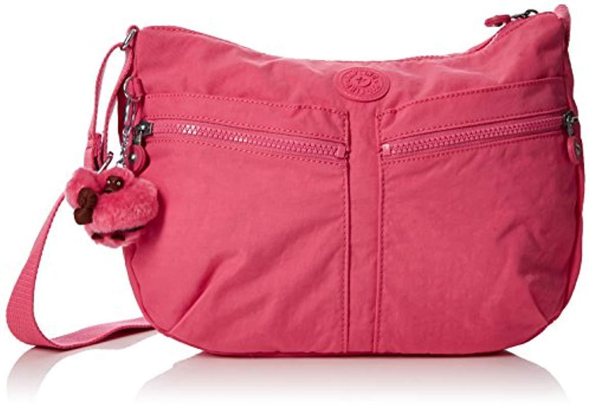 7df2c6434e Kipling Izellah Handbags in Pink - Save 28% - Lyst
