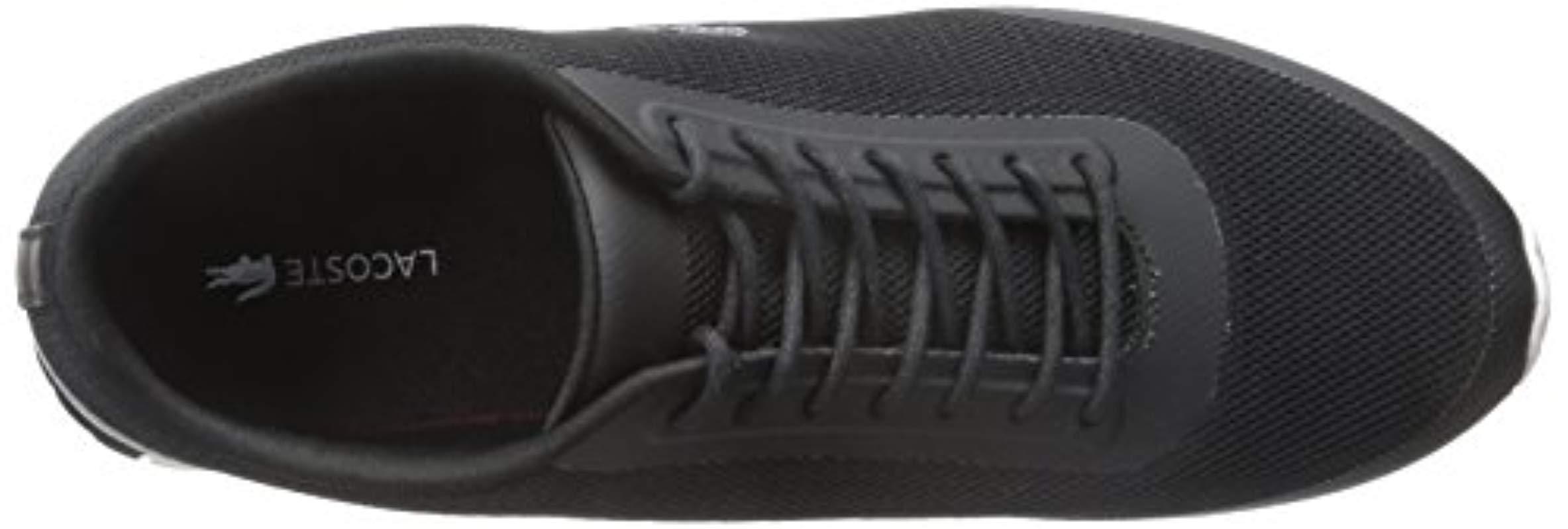 becd06355 Lyst - Lacoste Helaine Runner 116 3 Fashion Sneaker in Black