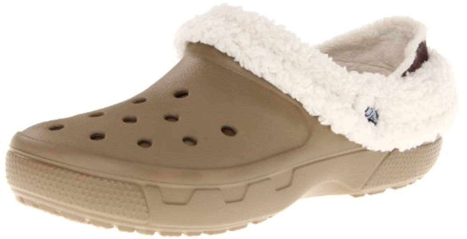 7dc54960a Lyst - Crocs™ Unisex Mammoth Evo Lined Clog in Natural for Men