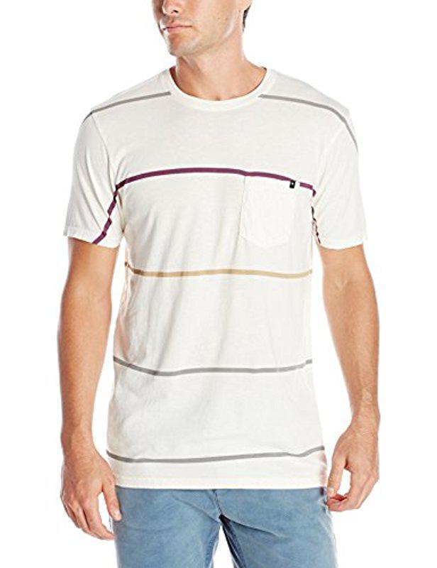 lyst rip curl randals custom t shirt in white for men