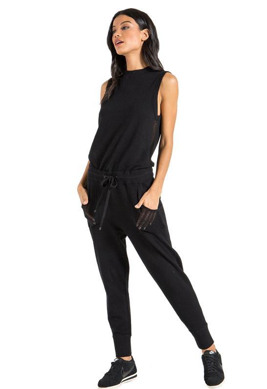 c4a58aa1a5a n PHILANTHROPY - Nellie Jumpsuit In Black Cat - Lyst. View fullscreen