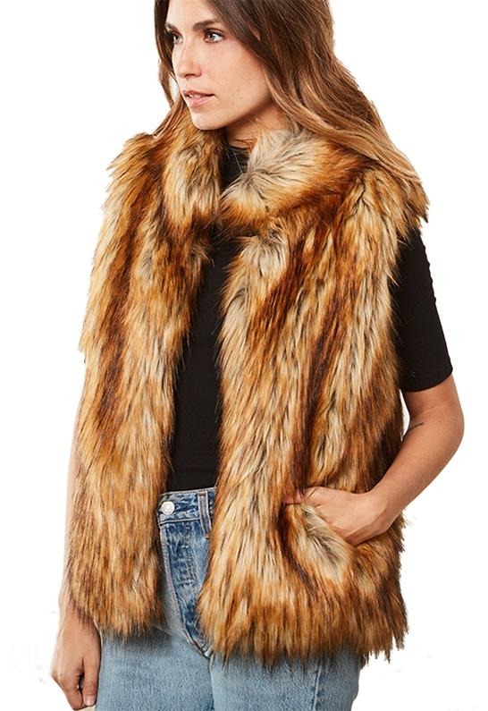 c0022bc0f Gallery. Previously sold at: Ambience · Women's Fur Vests ...