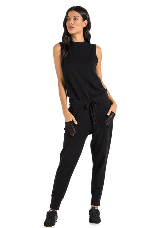 fef7f429c94 N Philanthropy Nellie Jumpsuit In Black Cat in Black - Lyst