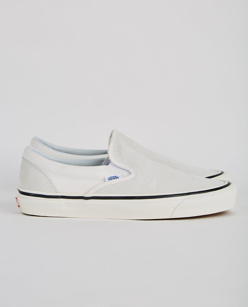 Lyst - Vans Classic Slip-on 98 Dx in White for Men 44f8f6050