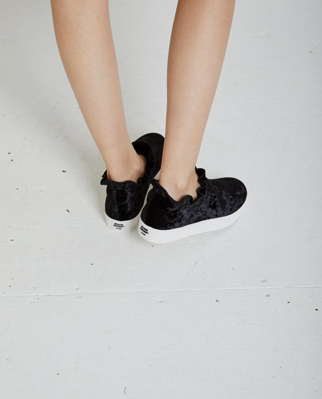 Opening Ceremony Didi velvet slip on