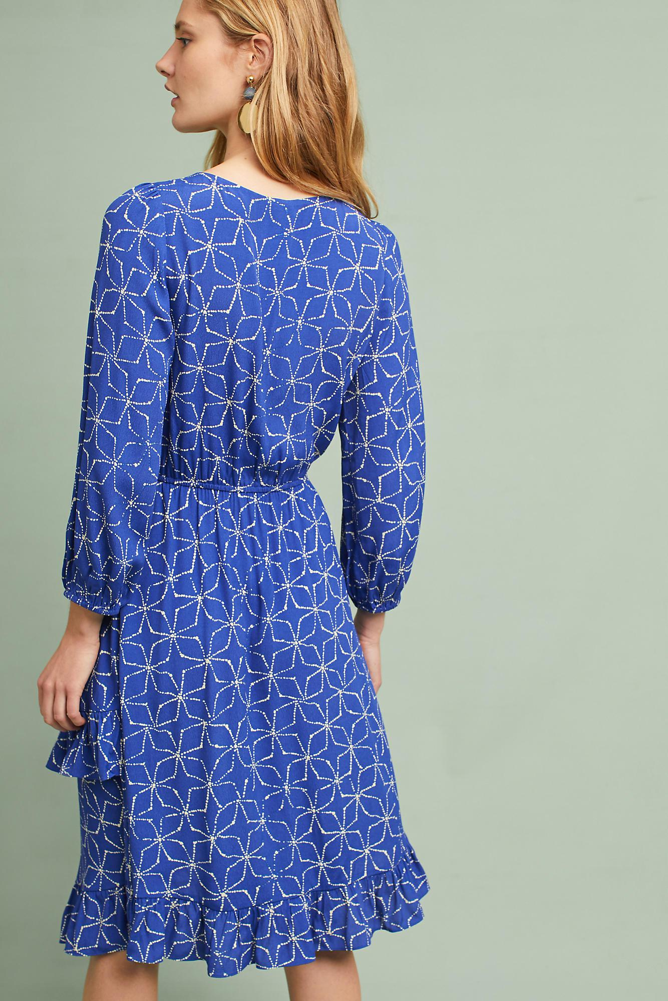 b13548286b43 Anthropologie Aleah Dress in Blue - Lyst