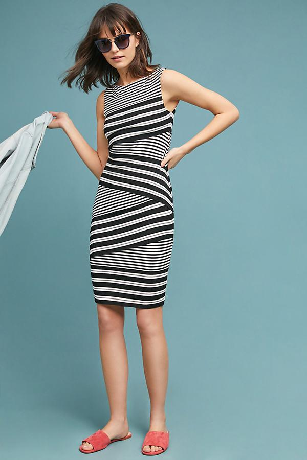 877c0006f0238 Bailey 44 Annabeth Striped Column Dress in Black - Lyst