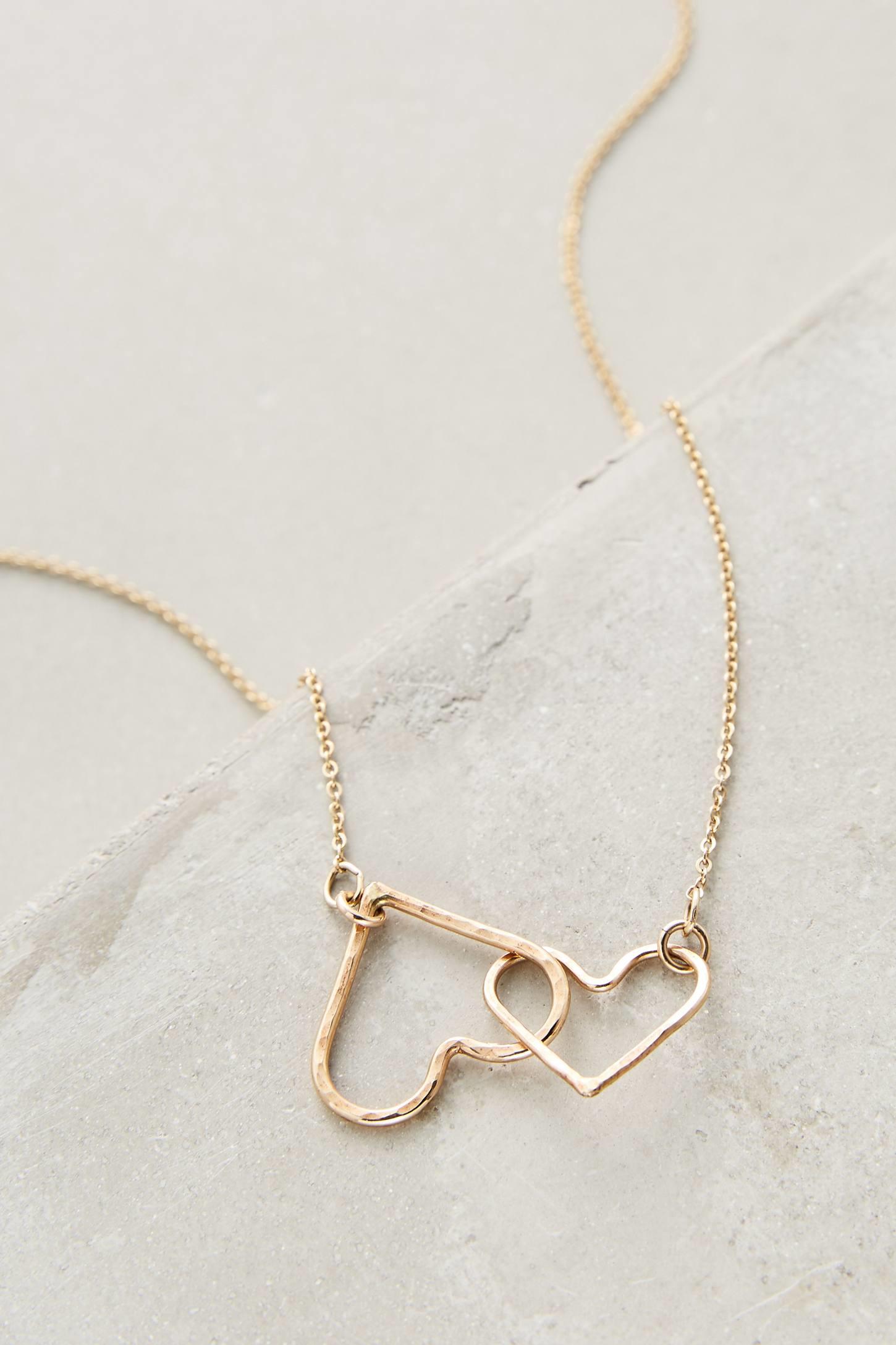 nashelle beloved necklace in metallic lyst