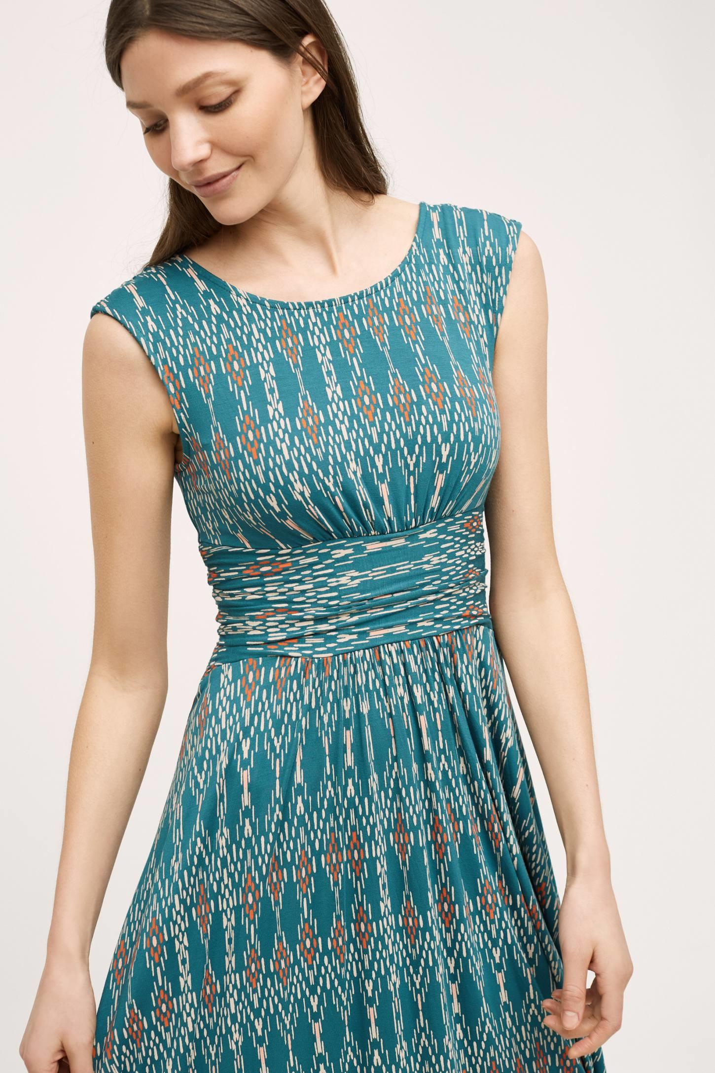Lyst - Maeve Mallorca Maxi Dress in Blue