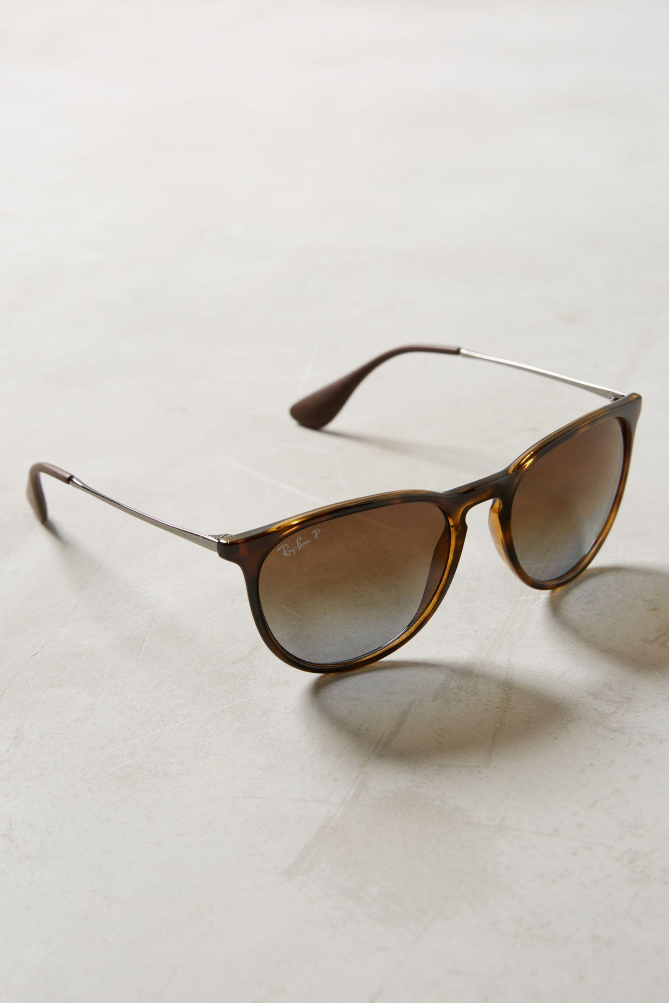 Ray-ban Polarized Erica Sunglasses in Brown