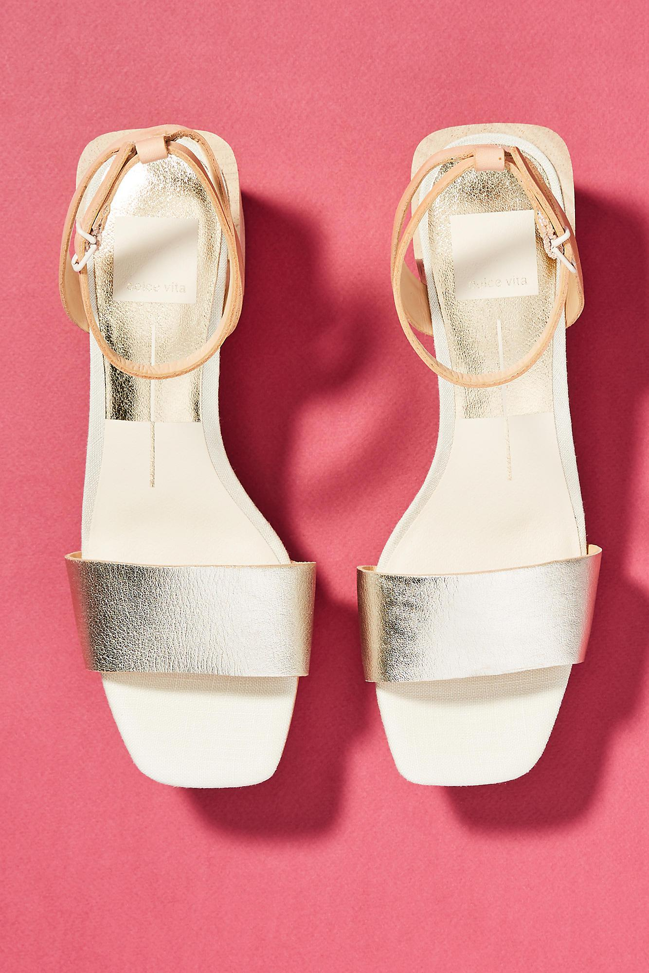 59cd5a3e519 Dolce Vita - Multicolor Zarita Block-heeled Sandals - Lyst. View Fullscreen