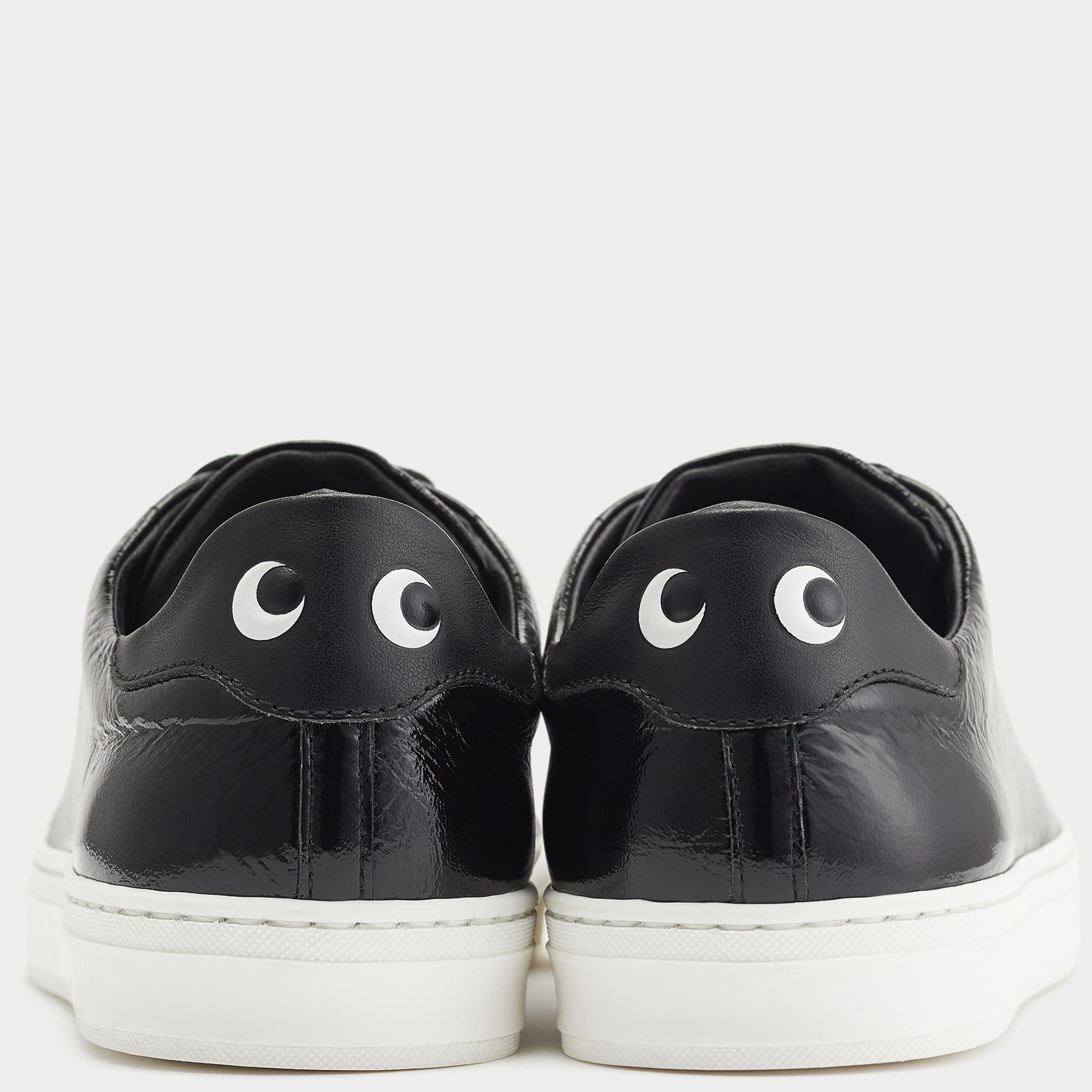 daf46a5b7fd002 Anya Hindmarch Eyes Sneakers in Black - Lyst