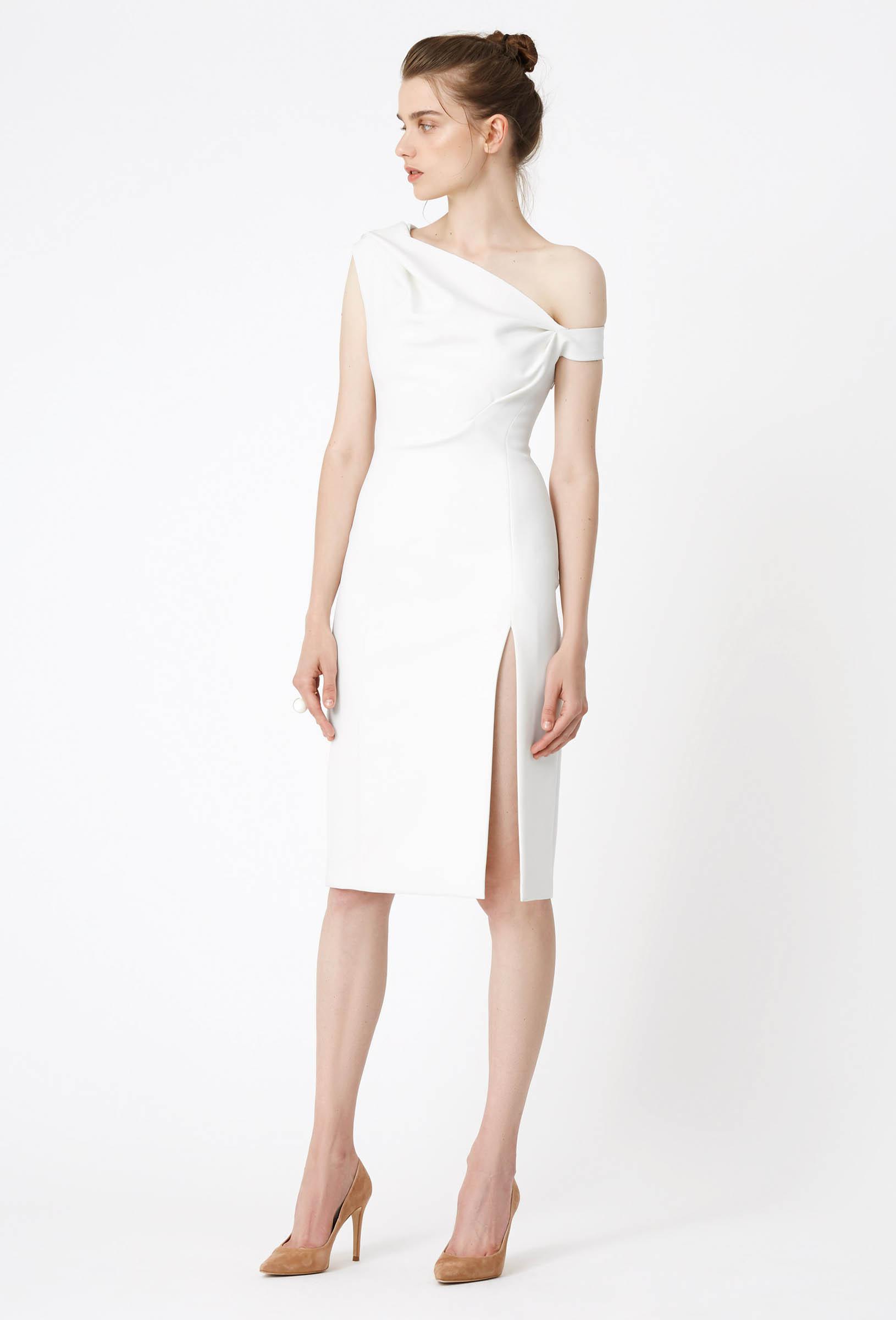 Großartig Cream Cocktail Dresses Fotos - Hochzeit Kleid Stile Ideen ...