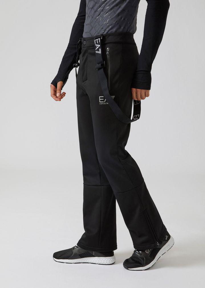 41fd64195c Emporio Armani Ski Pants in Black for Men - Lyst