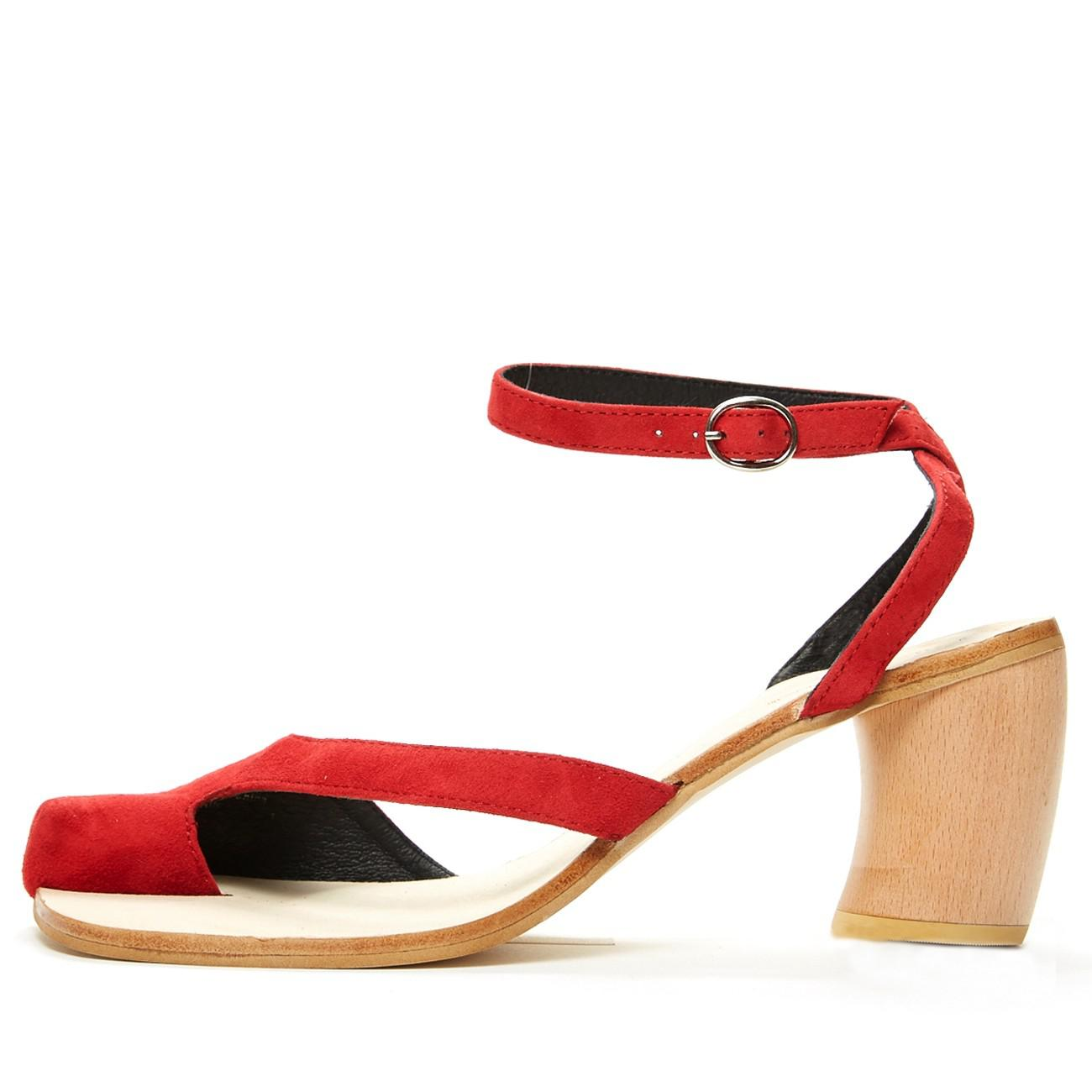 a9af04695a4 Lyst - Jeffrey Campbell Hex in Red