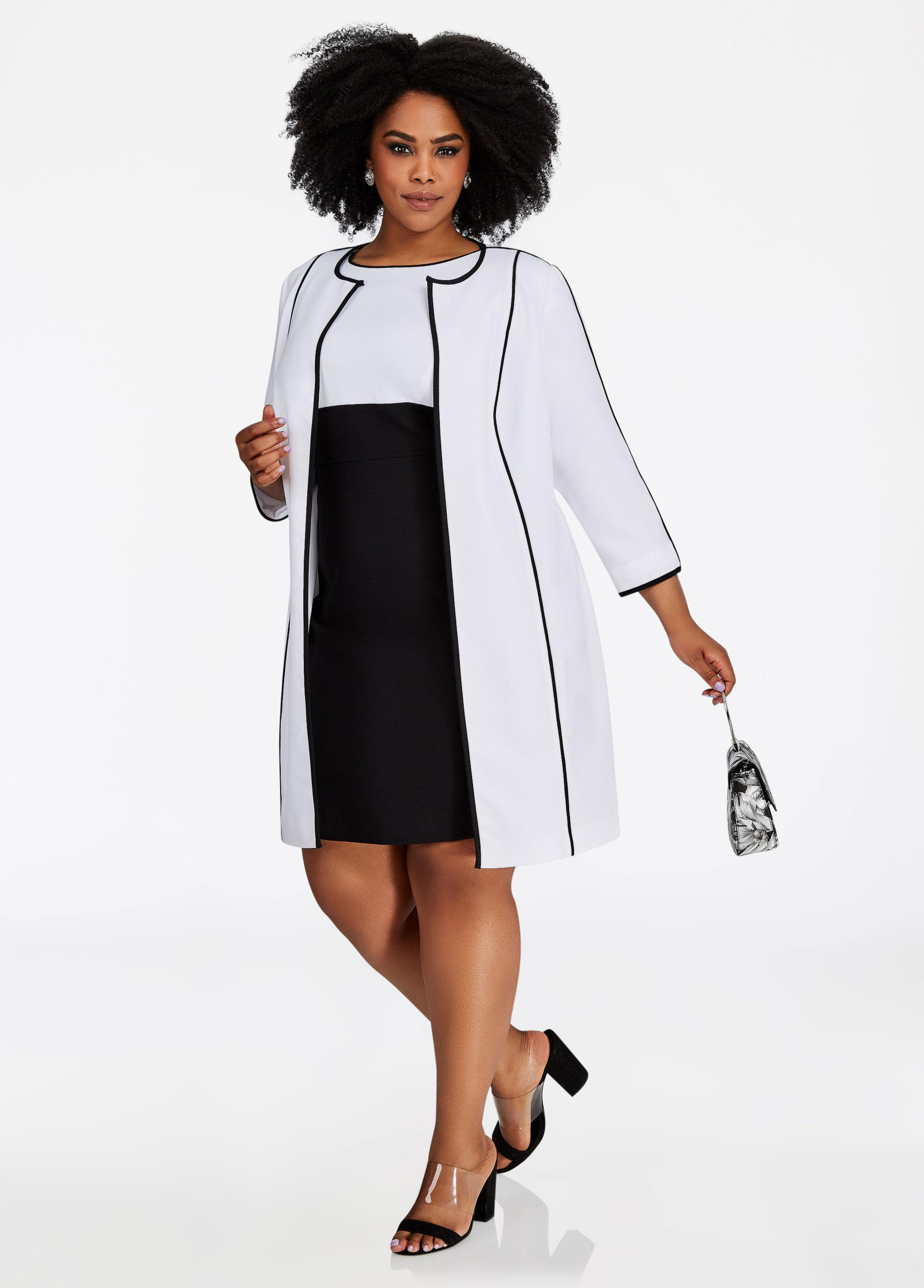 5a37fb7138c Gallery. Previously sold at  Ashley Stewart · Women s White Cocktail Dresses  ...