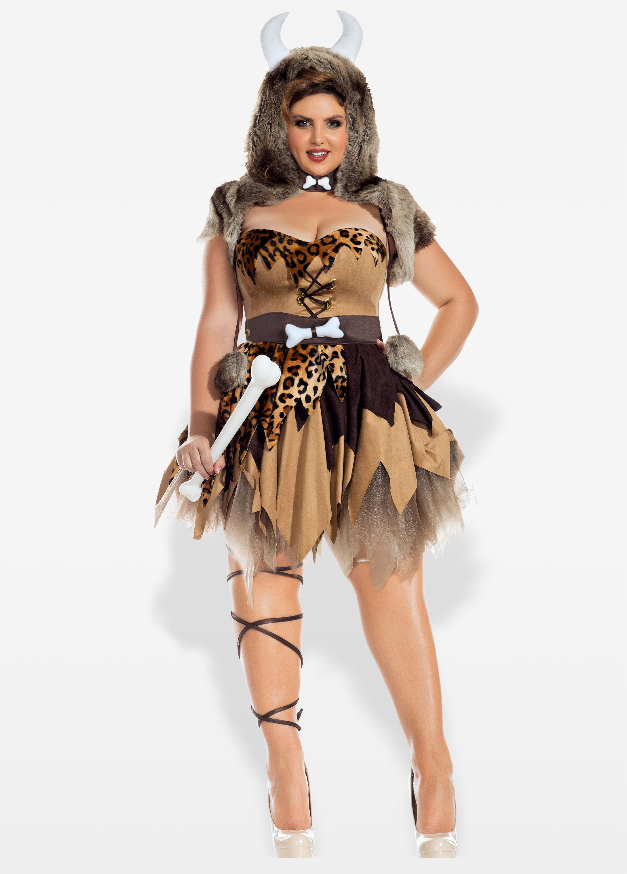 08c12ae66e8 Ashley Stewart Plus Size Prehistoric Honey Halloween Costume in ...