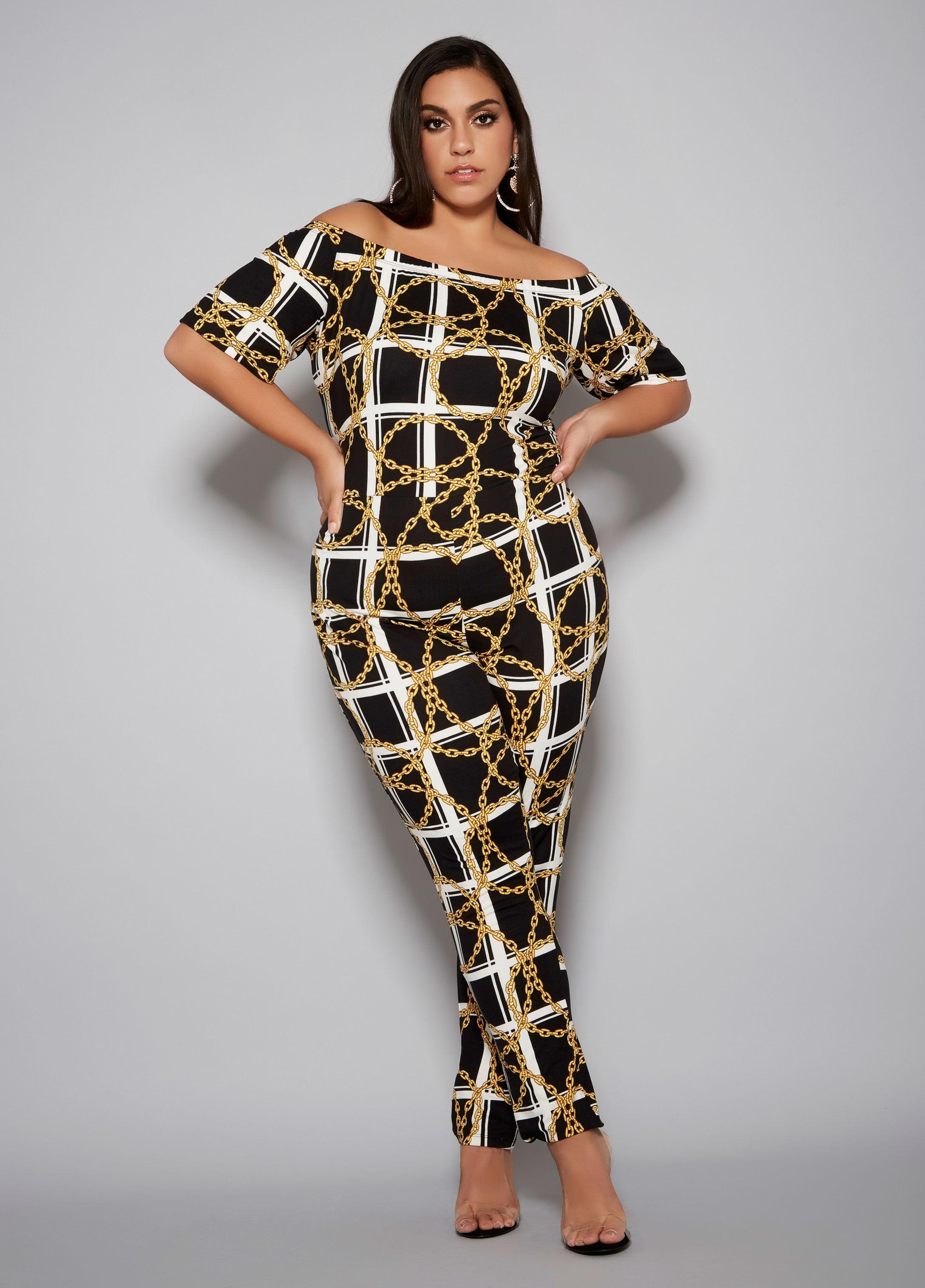 5ad1608874618 Lyst - Ashley Stewart Plus Size The Liv Jumpsuit in Black