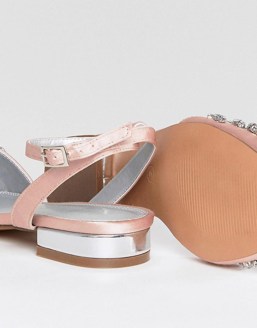 LOPEZ Embellished Ballet Flats very cheap sale online 5H09QRjKhb