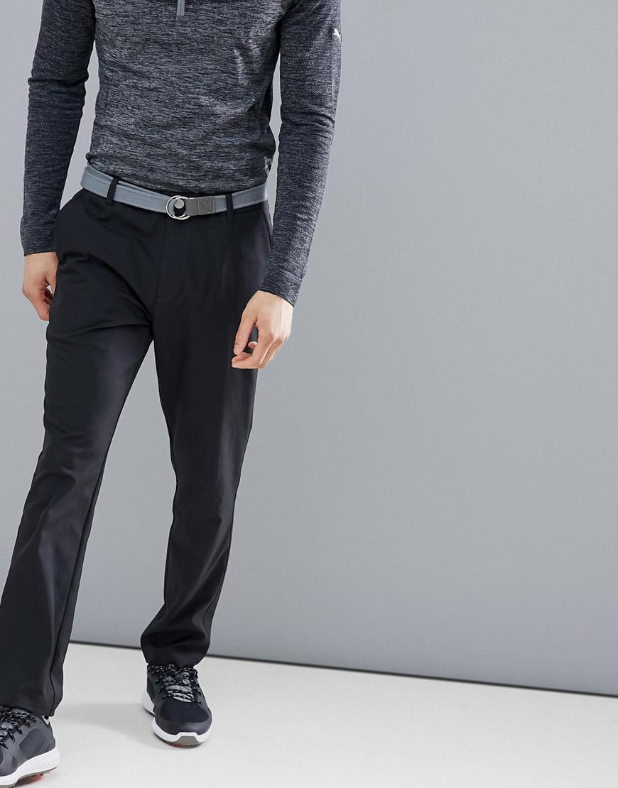 9390c93d4048 PUMA Golf Tailored Tech Pants In Black 57232001 in Black for Men - Lyst
