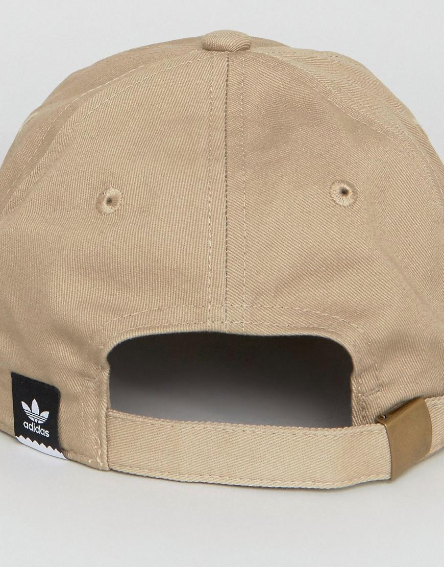 a0651d26 adidas Originals Thanks For Nothing Cap In Beige Br3873 in Natural ...