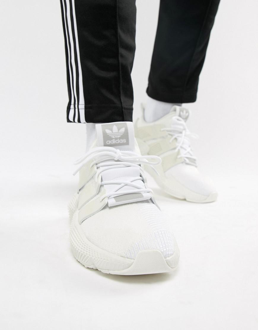 Lyst - adidas Originals Prophere Sneakers In White B37454 in White ... eaad552b1