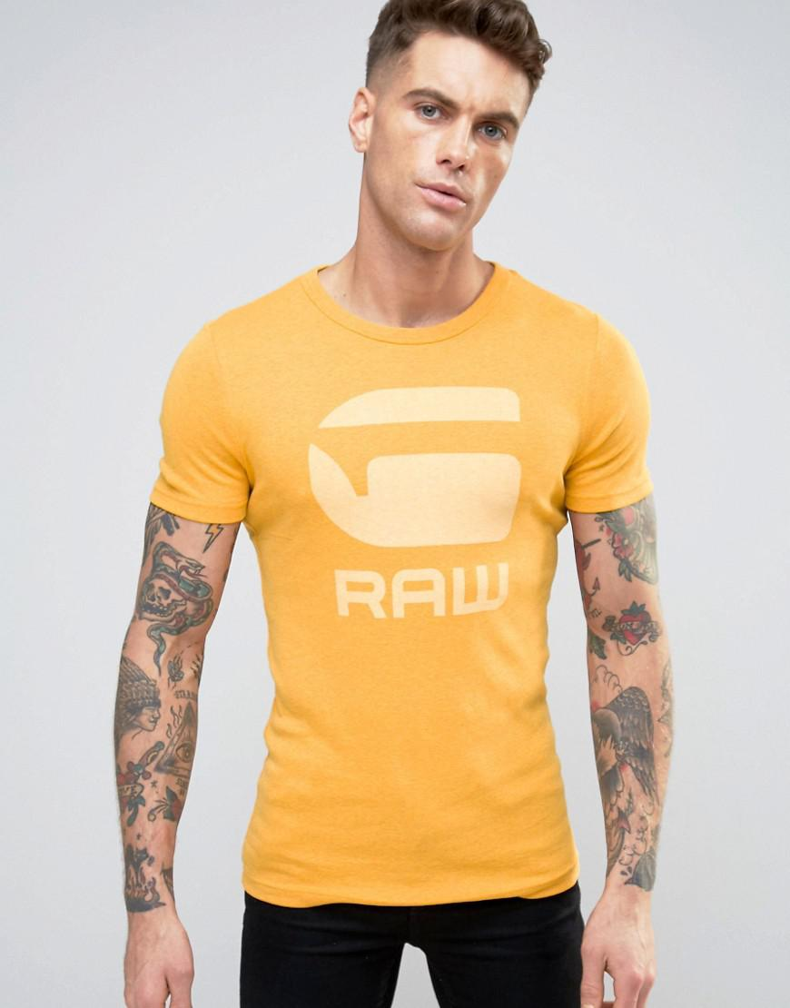 78b1bf8199a Lyst - G-Star RAW Drillon T-shirt in Yellow for Men