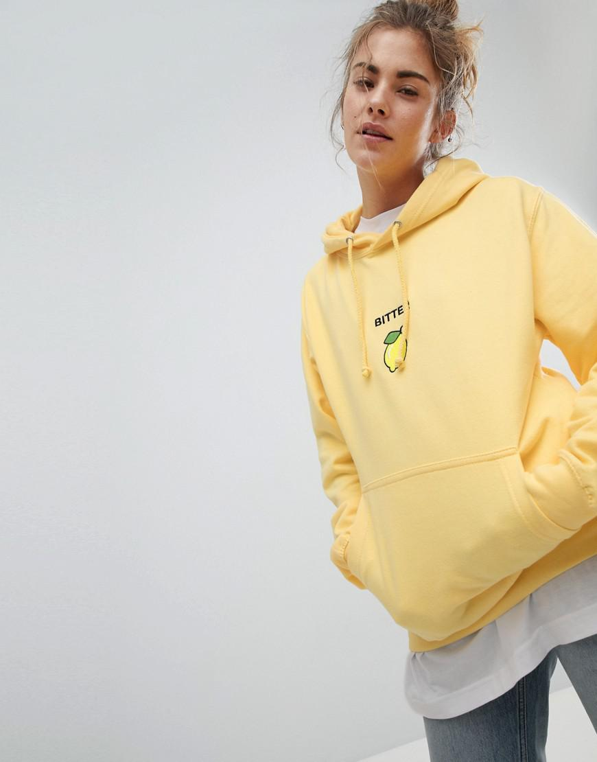 Adolescent Clothing Bitter Lemon Hoody Shop Cheap Price Buy Cheap Clearance Pre Order Cheap Online Real BVkfKlJafK