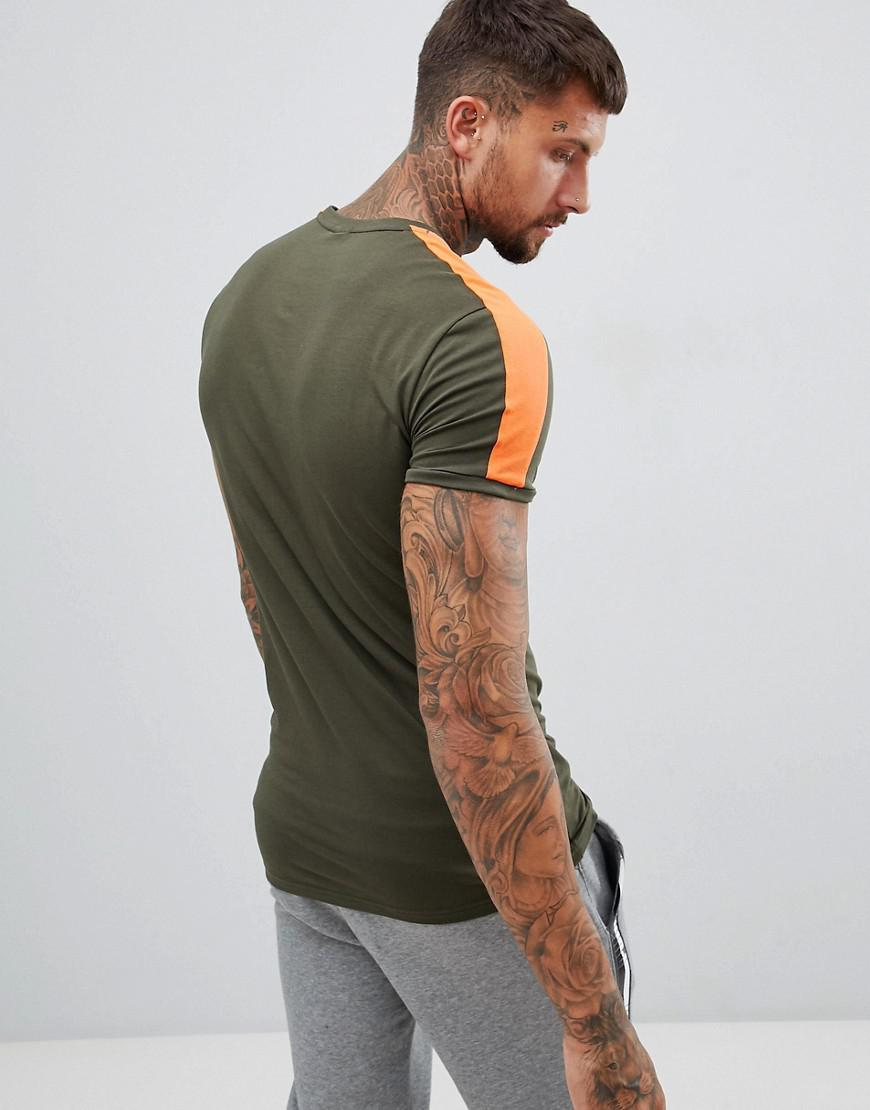 7c2c2a8ff PUMA - T7 Muscle Fit T-shirt In Green 57635215 for Men - Lyst. View  fullscreen