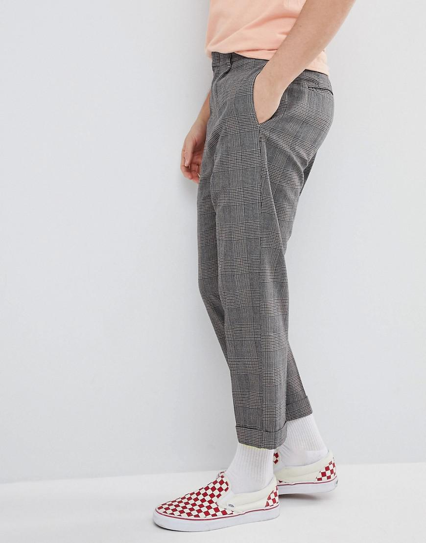 Lyst - Brixton Regent Trousers In Relaxed Fit in Gray for Men 6d7d93be04f