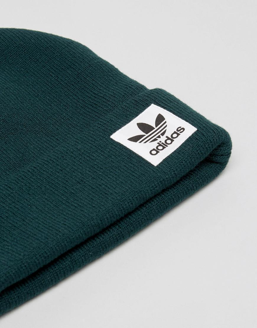 13b45a4296c5f adidas Originals High Beanie In Green Br2760 in Green for Men - Lyst