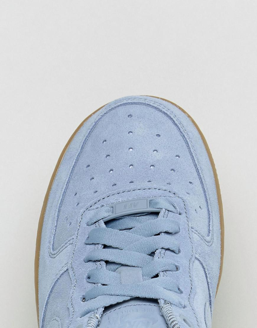 Nike Air Force 1 07 Trainers Mica Green Gum Hers trainers