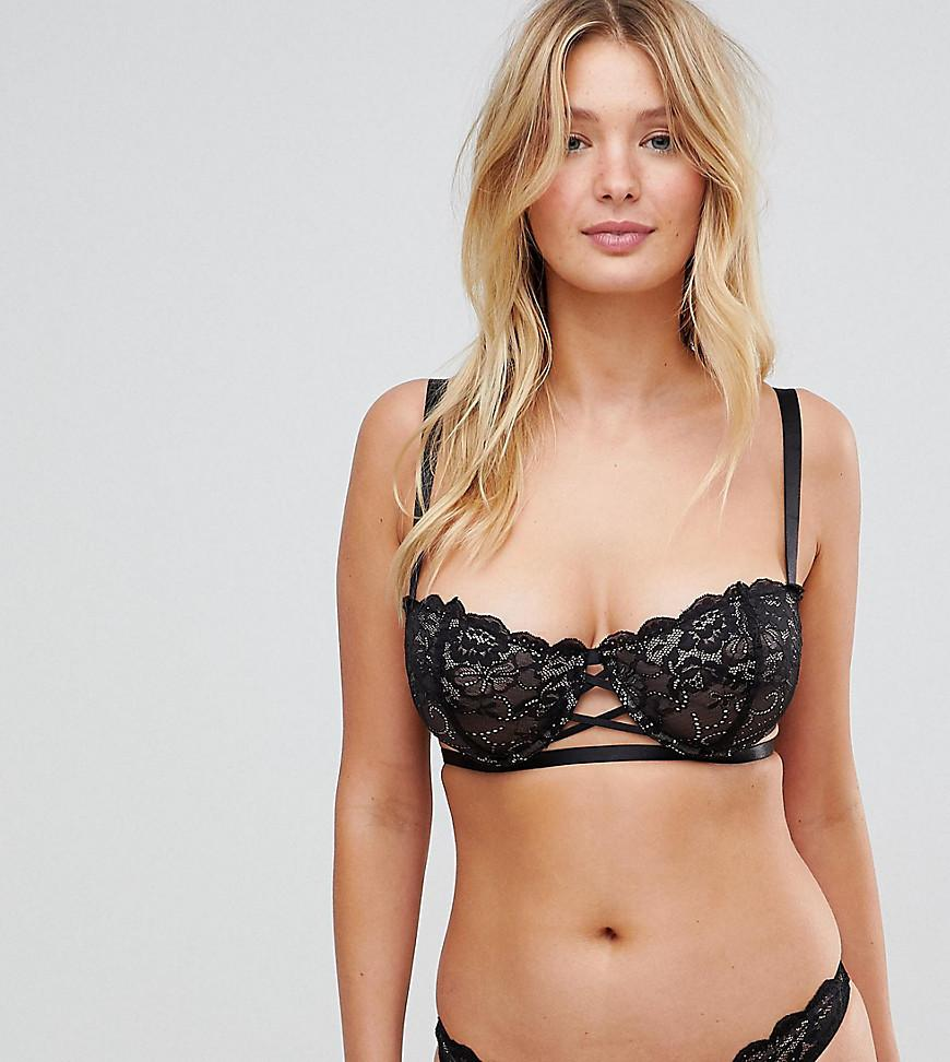 Wolf   Whistle G Cup Bra in Black - Lyst f4ec2da28