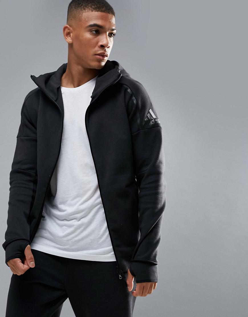 25fff7611c3 Lyst - adidas Athletics Zne 2 Hoodie In Black Bq6925 in Black for Men
